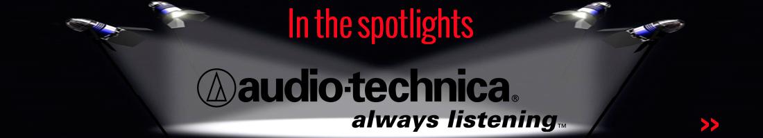 Spotlight: Audio Technica hoofdtelefoons